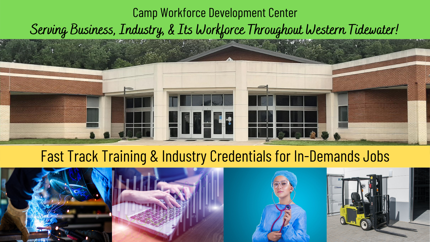 Workforce Development Webpage